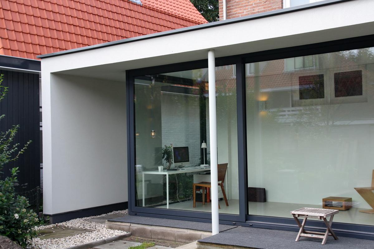 Doors Uitbouw Keuken : Verbouw en aanbouw jaren dertig woning bilthoven u2013 abjz