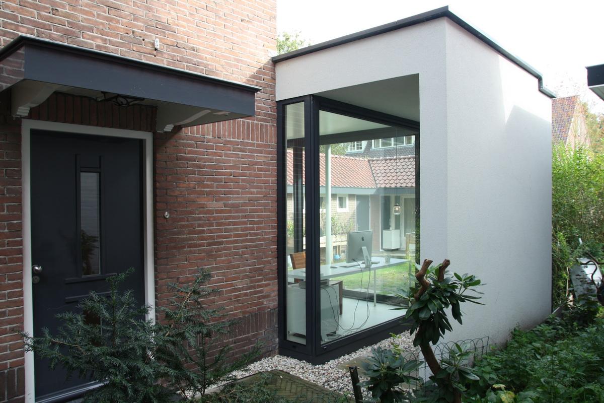 Verbouw en aanbouw jaren dertig woning bilthoven abjz for Moderne jaren 30 woning