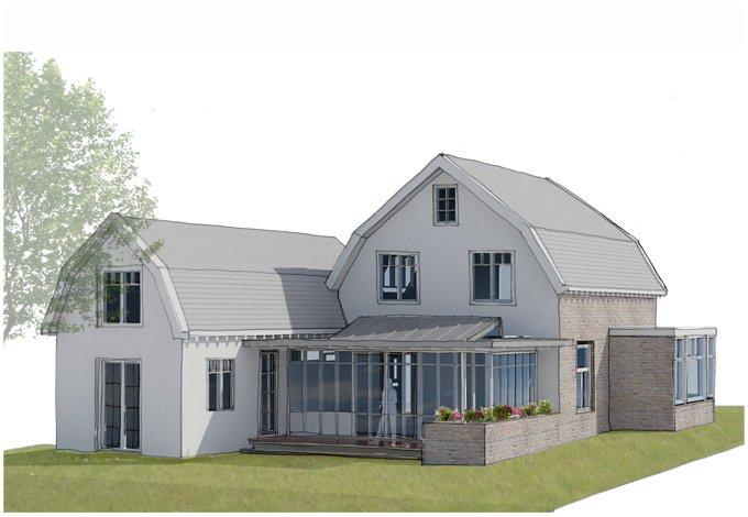 verbouw en aanbouw klassiek huis abjz architectenbureau