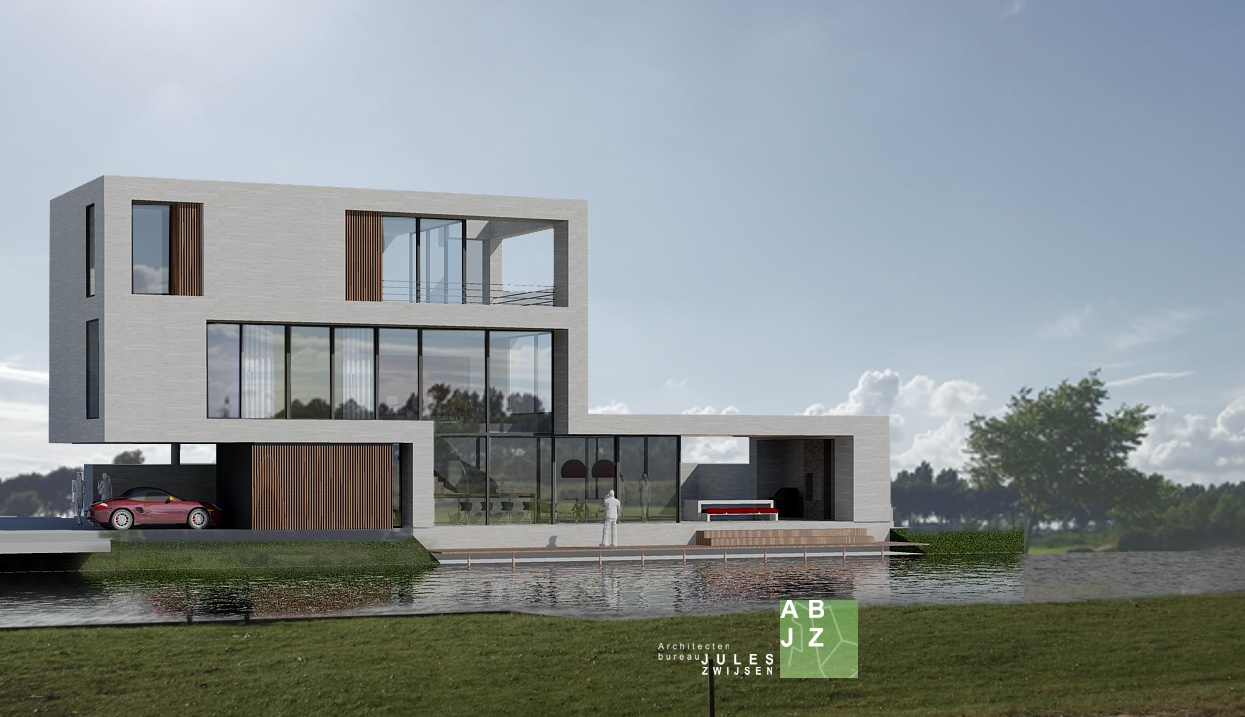 Moderne villa ter inspiratie u abjz architectenbureau jules zwijsen