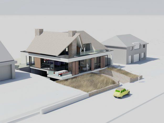 Huis bouwen architect u abjz architectenbureau jules zwijsen